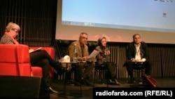 نشست «آزادی بیان در خاورمیانه» با حضور حمدی حسن، پژوهشگر مسائل جهان عرب ساکن سوئد، صدیقه وسمقی، دین پژوه ساکن سوئد، و تقیرحمانی، تحلیلگرسیاسی ساکن فرانسه، برگزار شد.