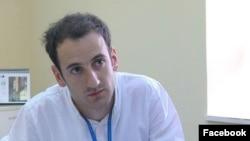 Armenia - Sisak Gabrielian, a correspondent for RFE/RL's Armenian service.