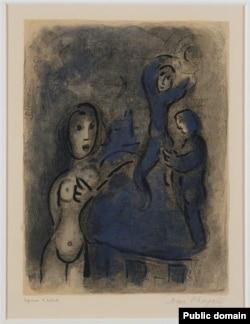 Марк Шагал, «Рааў і ерыхонскія шпіёны»
