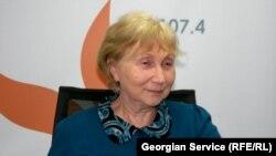 Директор Центра стратегических исследований Грузии, специалист по социальной политике Натела Сахокия