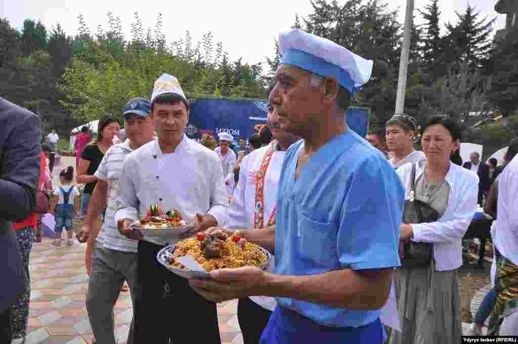 Палоо фестивалы өткөн жылы Жалал-Абад, Чүй облустарында өткөн.