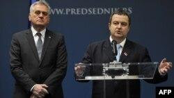 Ivica Dačić i Tomislav Nikolić