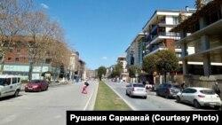 Թուրքիա - Ստամբուլի փողոցները կիսադատարկ են, 7-ը ապրիլի, 2020թ.
