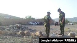 Policët kufitar në kufirin Taxhikistan-Kirgizi