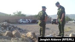На таджикско-кыргызской границе. Архивное фото