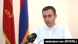 Представитель Верховного органа АРФД Ишхан Сагателян, 19 июня 2020 г.