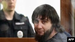 Один з обвинувачених у справі Заур Дадаєв у залі суду в Москві, 27 червня 2017 року