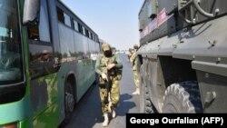 Pripadnici ruske vojne policije u Siriji