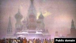 Csehország- Alfons Mucha Szláv eposzának egyik képe