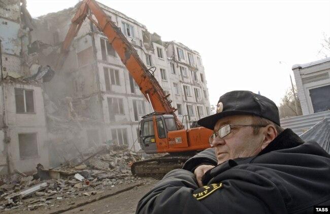 Снос пятиэтажек в Зеленограде