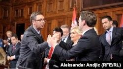 Čestitke na izboru, foto: Vesna Anđić