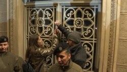 Protest u Beogradu: Kucanje na vrata predsednika Srbije