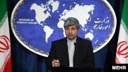 رامین مهمانپرست، سخنگوی وزارت امور خارجه ایران.