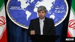 رامين مهمانپرست، سخنگوی وزارت امور خارجه ايران