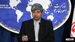 Иран сыртқы істер министрлігінің өкілі Рамин Мехманпараст.