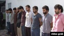 Звдержанные в Нуреке подозреваемые в симпатиях к ИГИЛ