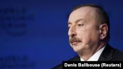 Президент Азербайджана Ильхам Алиев.