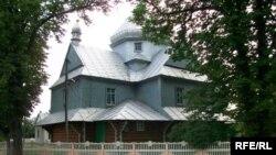 Дерев'янна церква, 1578р. Село Марківці