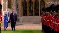 Трамп збентежив королеву Єлизавету II різкою зупинкою під час обходу королівської варти