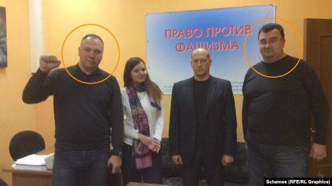 І Георгій, і Володимир Федорови були залучені до організації «Право проти фашизму»