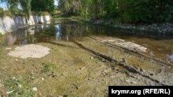 Русло реки Салгир, 23 сентября 2020 года