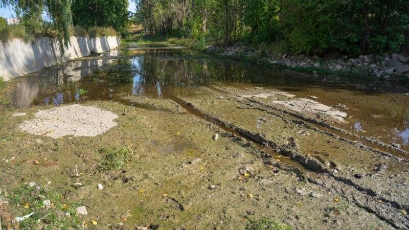 Салгир в ожидании дождей: засушливая крымская осень и продолжение водного кризиса (фотогалерея)