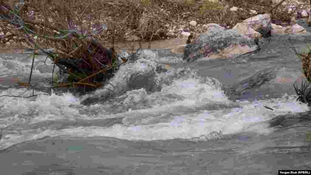 Річка Узунджа зараз повноводна