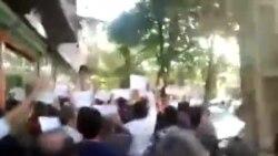 تظاهرات حمایت از کوبانی در سنندج