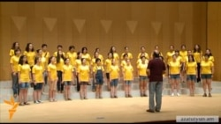 Հայաստանի փոքրիկ երգիչները՝ Ճապոնիայում