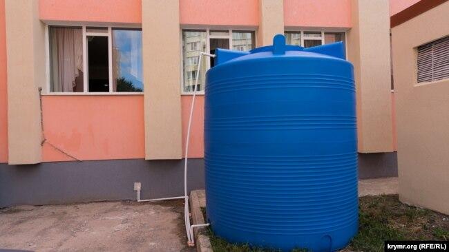 Резервуары для воды в Симферополе, 8 сентября 2020 года