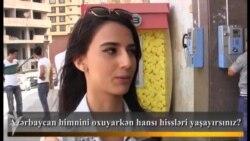 Azərbaycan himnini oxuyarkən hansı hissləri yaşayırsınız?