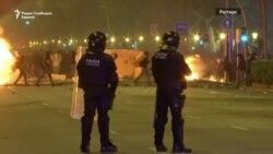 Насилни протести во Барселона