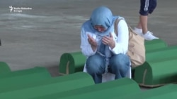 Posljednji oproštaj od ubijenih u Srebrenici