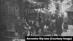 Пераезд сям'і Шавялёвых уСпас зхутара Кадынікі пасьля арышту Захара Паўлавіча ў1932 годзе