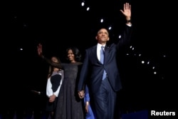 Barack Obama, după discursul de rămas bun, Chicago, 10 ianuarie 2017