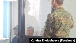 Алмазбек Атамбаев в зале суда. 11 ноября 2020 года.