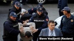 Crnogorska policija u akciji 16. oktobra 2016.