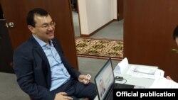 Кыргызстандын Малайзиядагы элчиси Кылычбек Султанов.