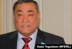 Заместитель председателя Ассамблеи народа Казахстана Ахметжан Шардинов. Алматы, 13 октября 2011 года.