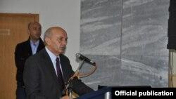 Isa Mustafa gjatë fjalimit të tij në Korishë të Prizrenit
