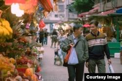 """Кадр из фильма """"Поцелуй в сумерках"""" (Suk Suk, режиссёр Рэй Ёнг)"""