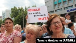 Moldovans have been protesting daily in Chisinau since a lower court invalidated the results of the June 3 runoff election.