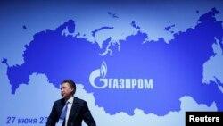 Шефот на рускиот енергетски гигант Газпром, Алексеј Милер.