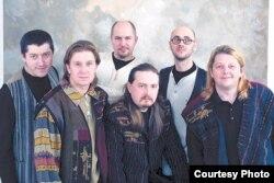 Удзельнікі гурту «Палац»
