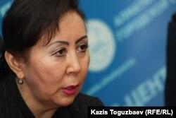 Шолпан Курманбекова, судья кассационной коллегии Алматинского городского суда. Алматы, 28 февраля 2013 года.