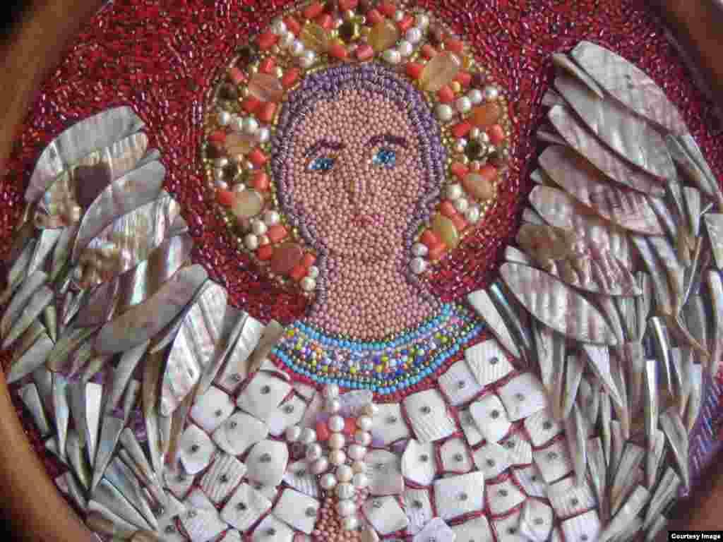 Бисерная мозаика. Работы Марии Орловой
