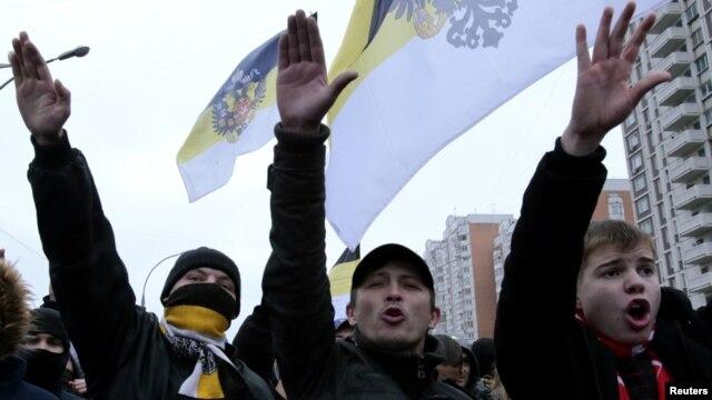 "Мәскәүдә узган ""Рус маршы"""
