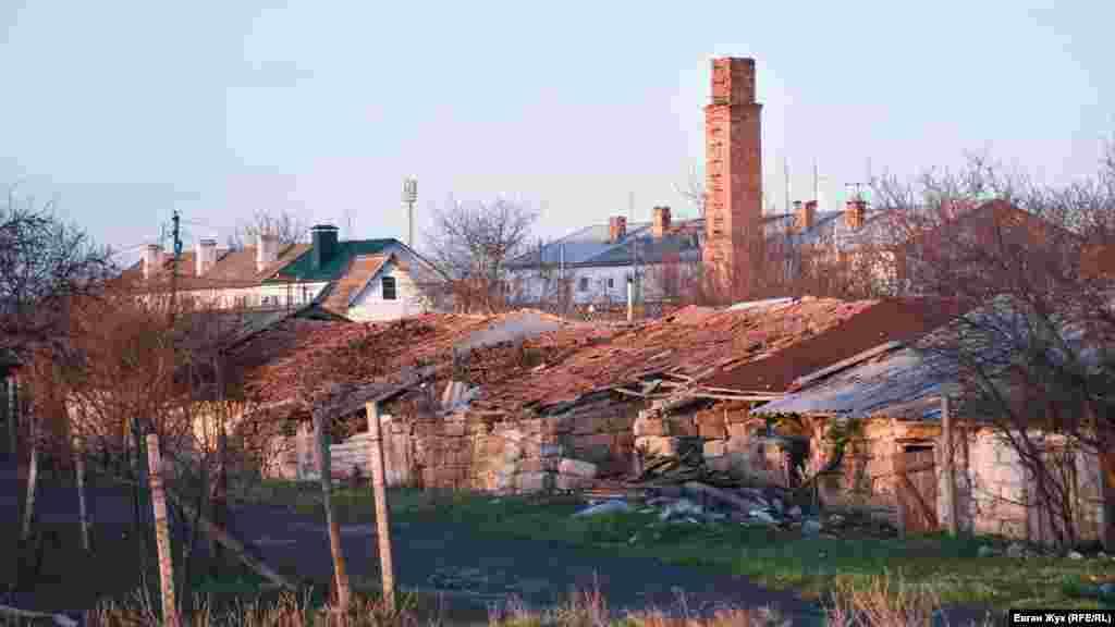 В Табачном встречаются живописные развалины