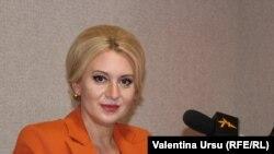 Violeta Ivanov, candidată a Partidului Șor în alegerile prezidențiale, a ieșit pe locul patru la primul tur de scrutin