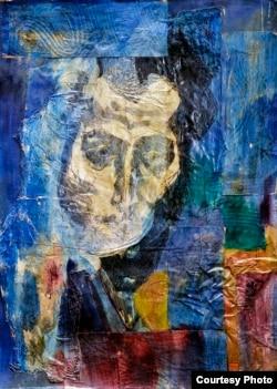 """""""Портрет литератора"""" – картина Николая Трегуба, 1978"""
